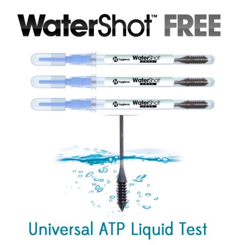 WaterShot Free - Universal ATP Water Test - Available at Surface Balance Solutions