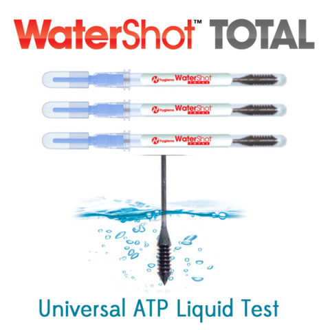 WaterShot Total - Universal ATP Water Test - Available at Surface Balance Solutions